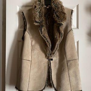 Vest Faux Fur Jacket
